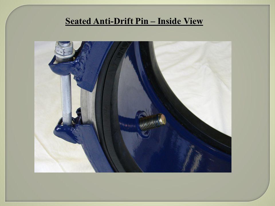 Seated Anti-Drift Pin – Inside View