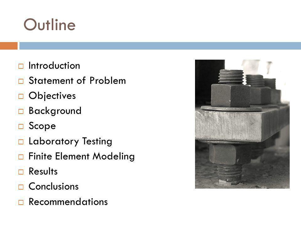 Laboratory Testing – Unieccentric Load Specimen under load Before application of load