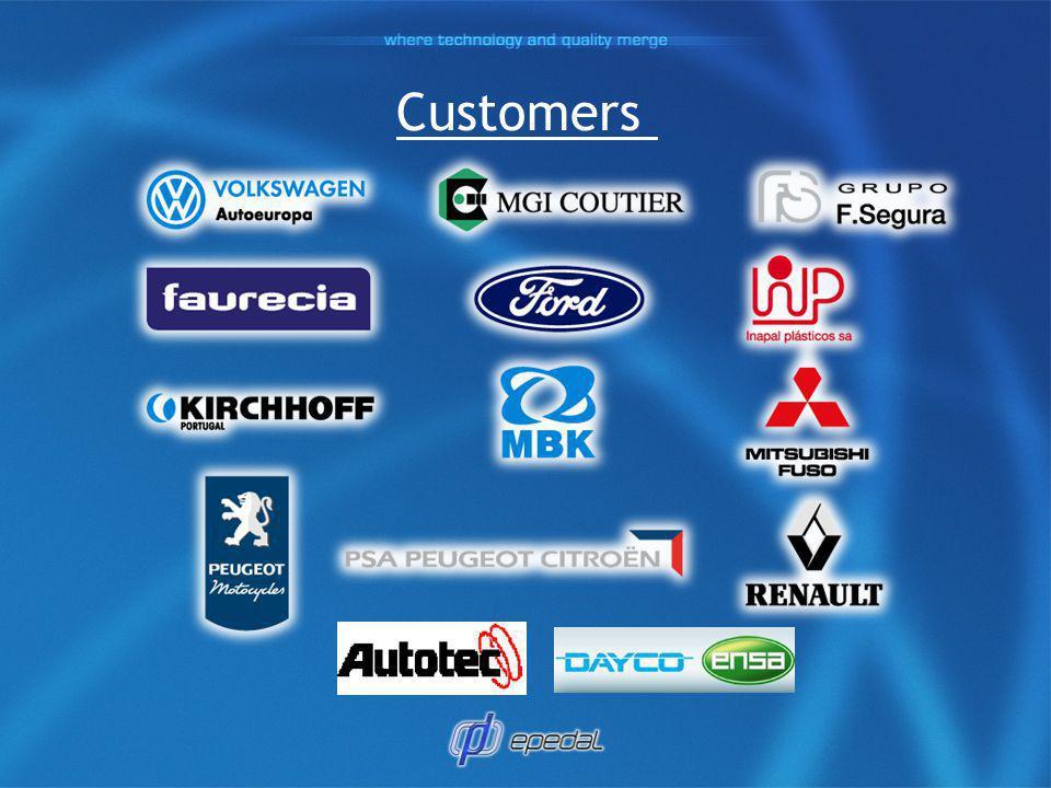 Certifications VDA Volkswagen - A ISO 14001:2004 - BVQI ISO TS 16949:2002 - BVQI