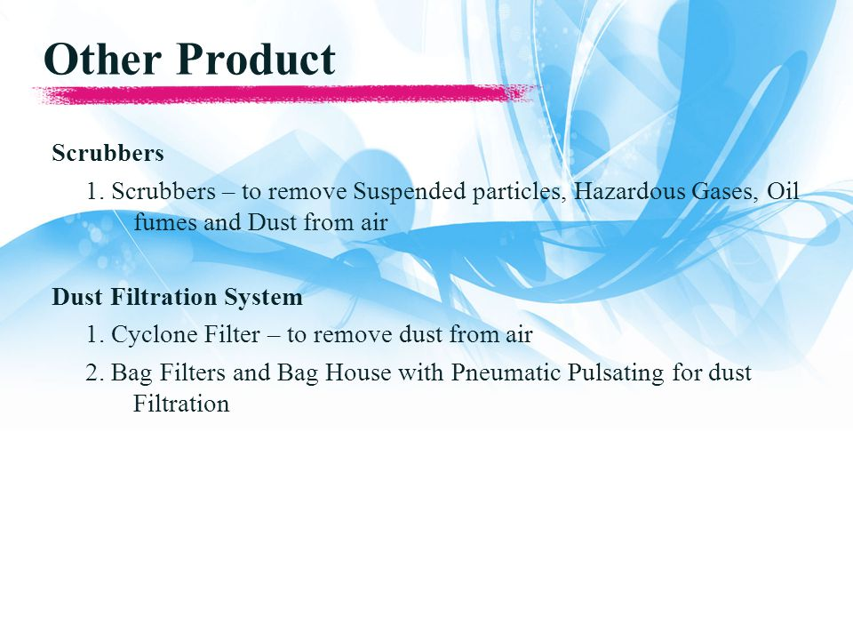 Other Product Scrubbers 1.