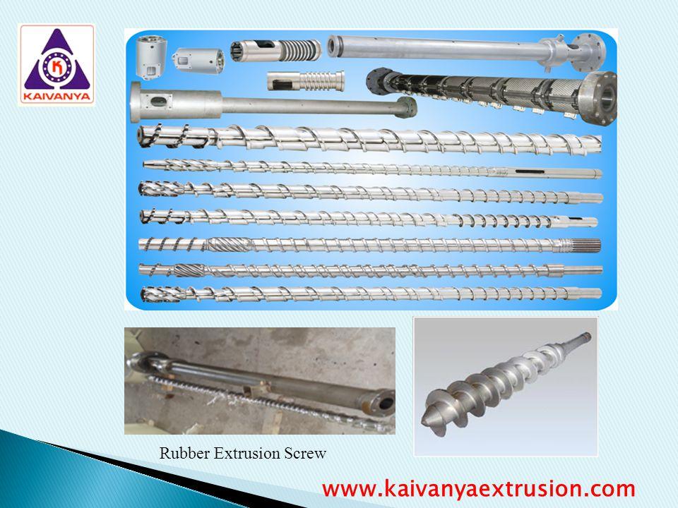 Rubber Extrusion Screw www.kaivanyaextrusion.com
