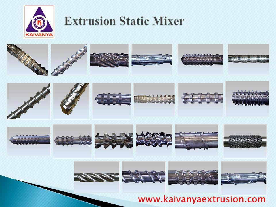 Extrusion Static Mixer www.kaivanyaextrusion.com