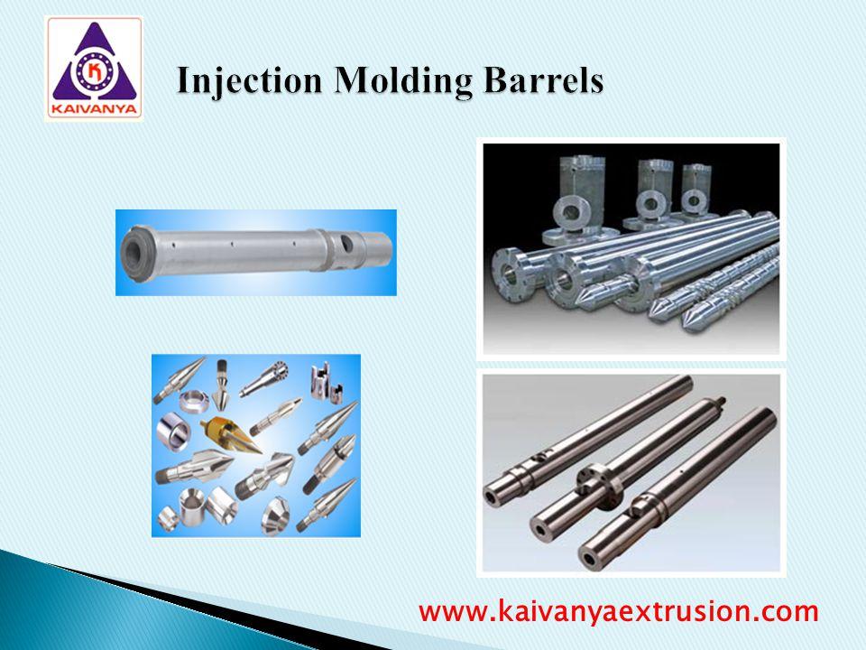 Injection Molding Barrels www.kaivanyaextrusion.com