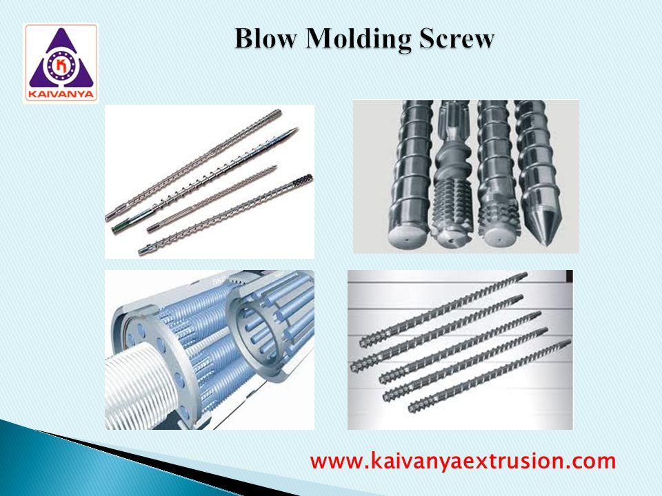 Blow Molding Screw www.kaivanyaextrusion.com