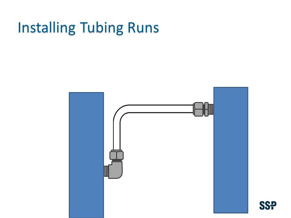 Installing Tubing Runs