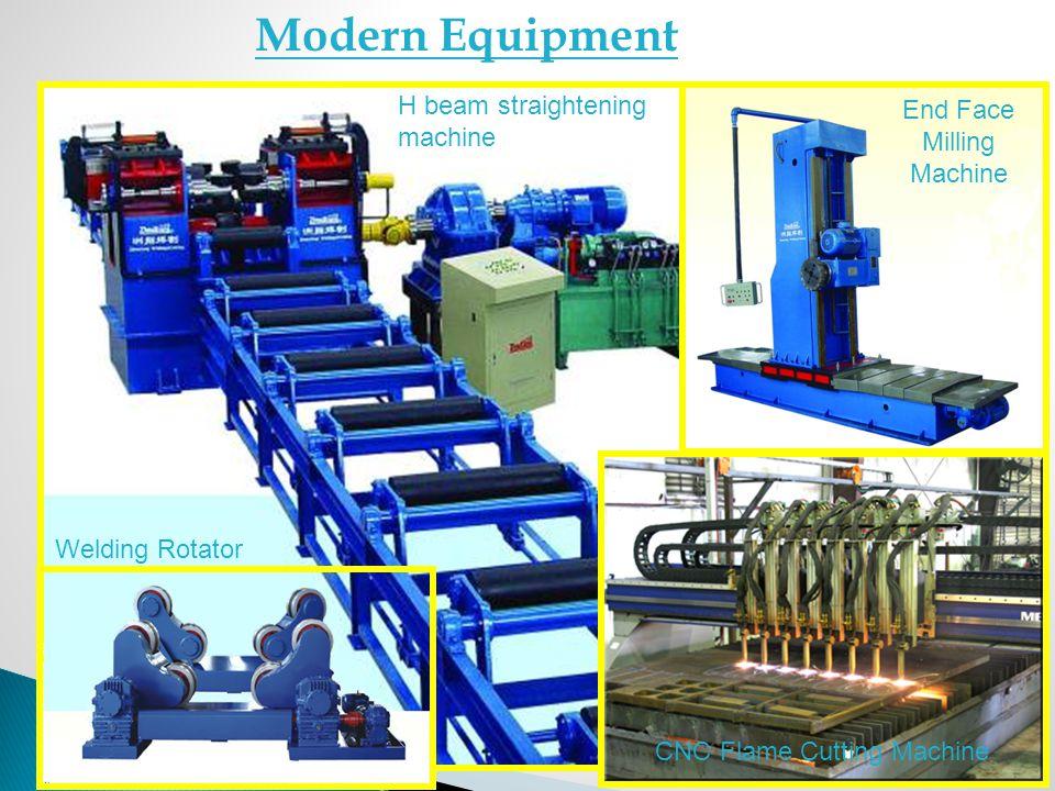 H beam straightening machine End Face Milling Machine CNC Flame Cutting Machine Welding Rotator Modern Equipment