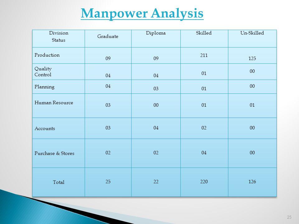 25 Manpower Analysis