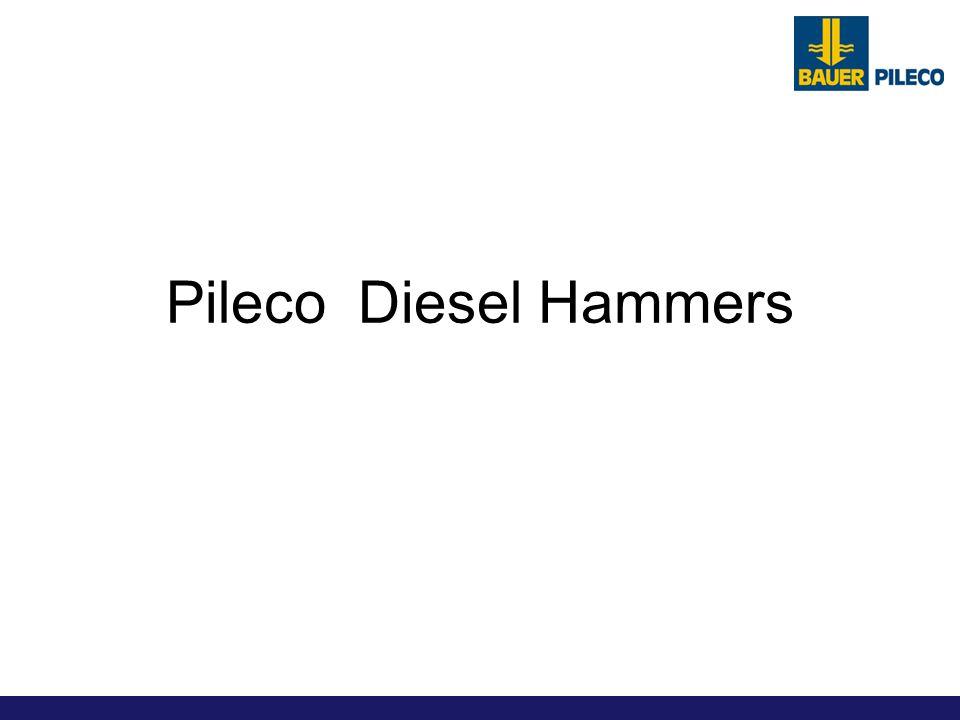 Pileco Diesel Hammers