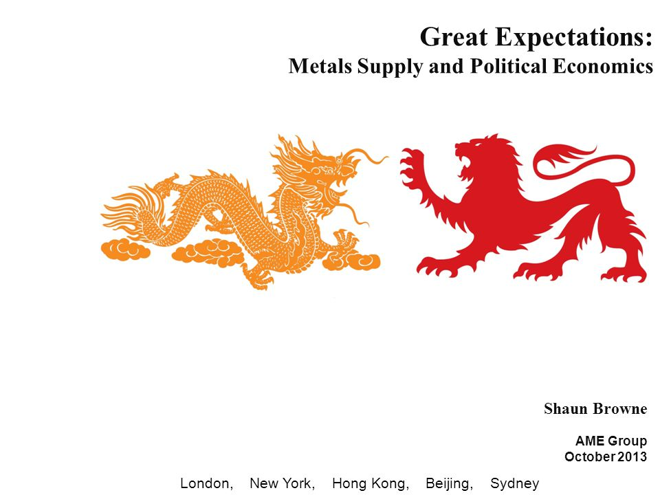 RelationshipSupportResearchEngineering London New York Hong Kong Beijing Sydney Engineering Economics – AME Group