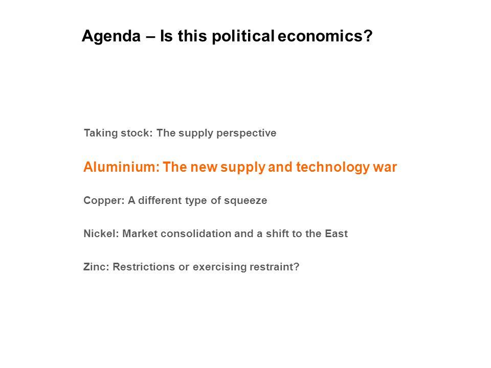 Aluminium: The supply and technology war