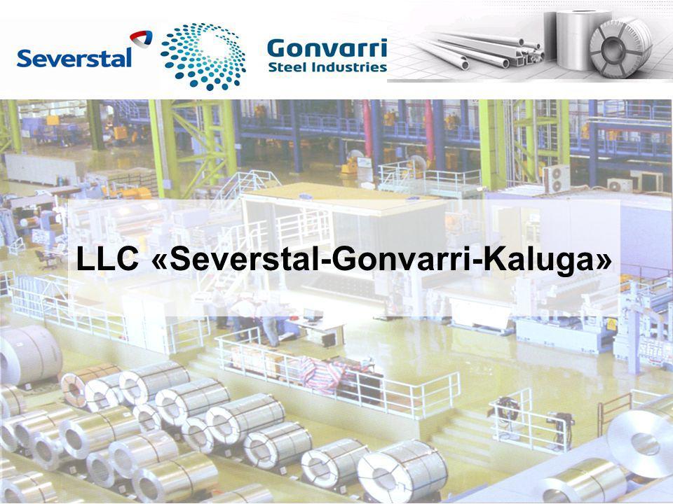 SEVERSTAL–GONVARRI–KALUGA PLANNING First cut 23.06 First cut 18.10 First pack 19.07