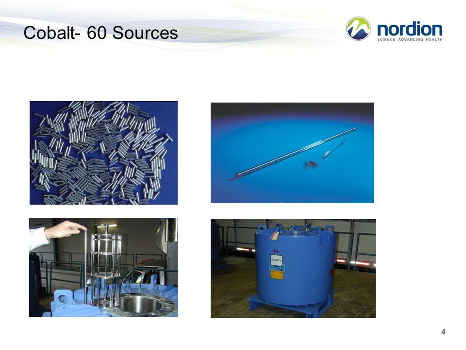 4 Cobalt- 60 Sources