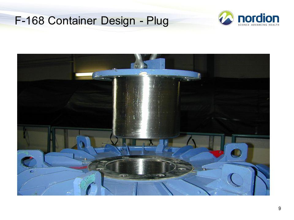 9 F-168 Container Design - Plug
