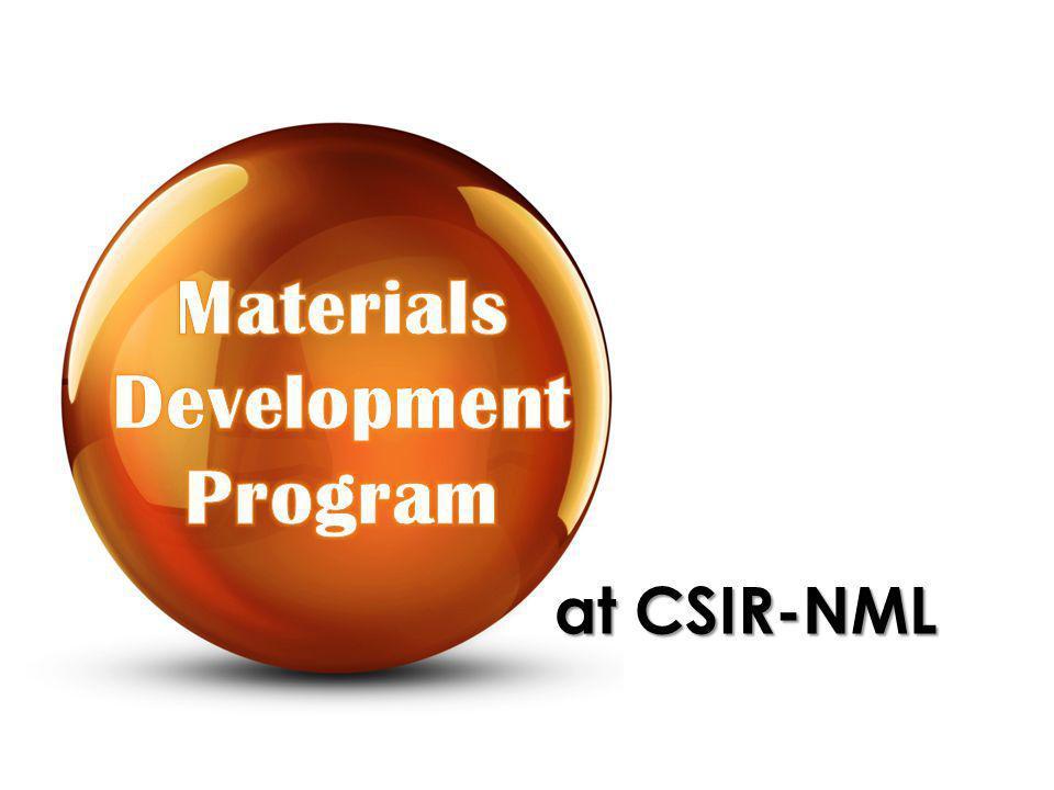 at CSIR-NML