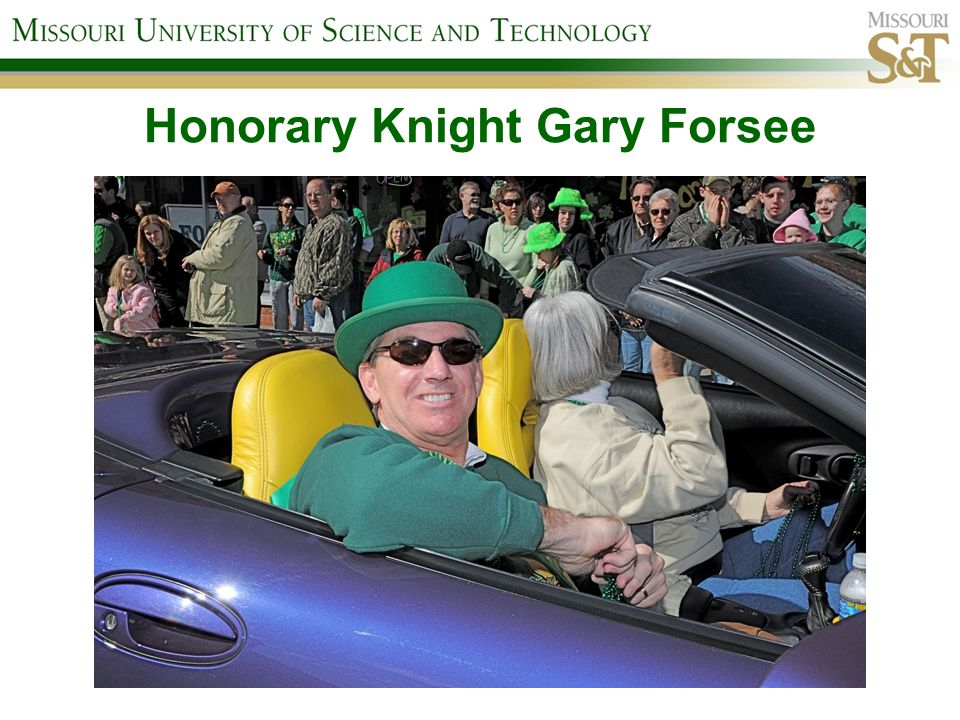 Honorary Knight Gary Forsee