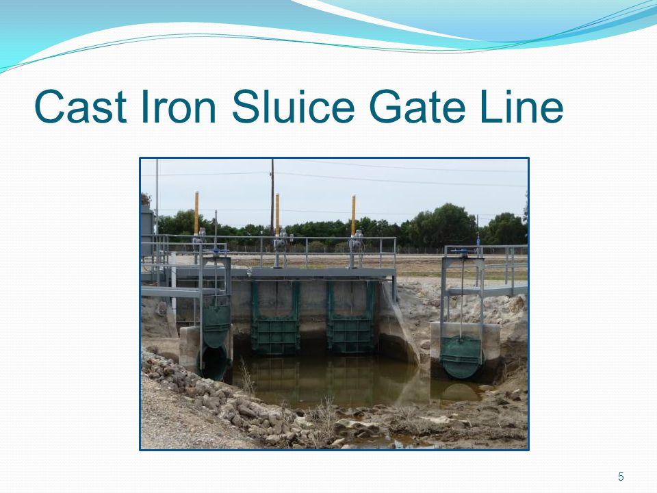 Cast Iron Sluice Gate Line 5