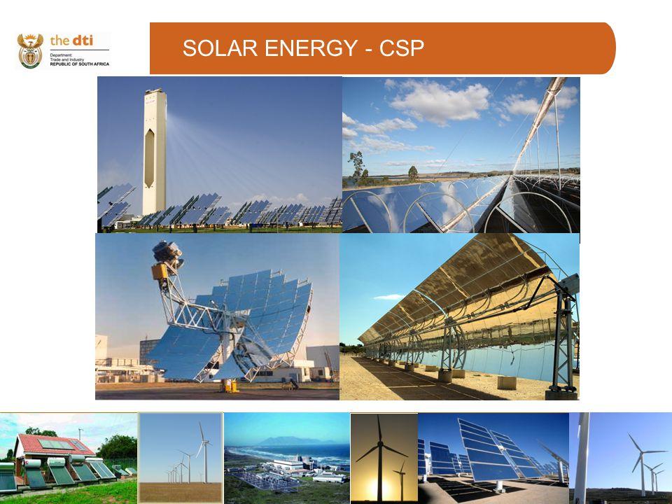 SOLAR ENERGY - CSP