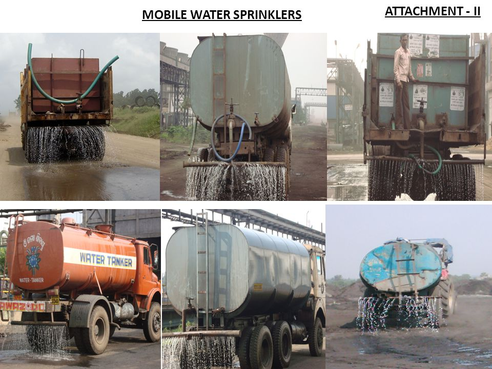 ATTACHMENT - II MOBILE WATER SPRINKLERS