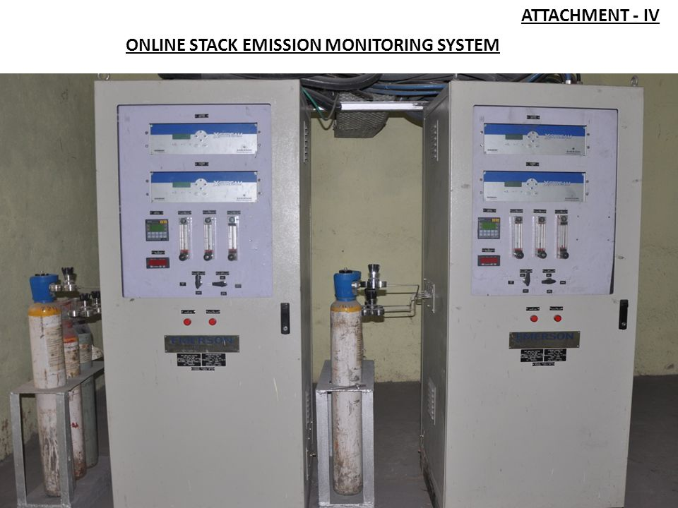 ATTACHMENT - IV ONLINE STACK EMISSION MONITORING SYSTEM