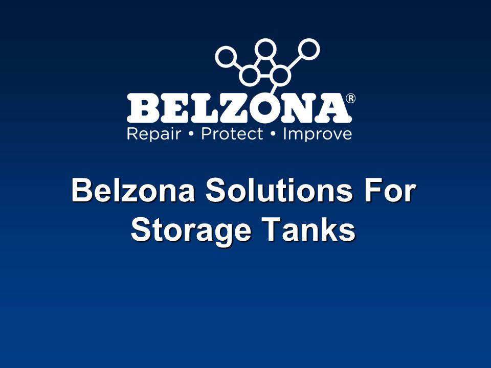 Belzona Solutions For Storage Tanks