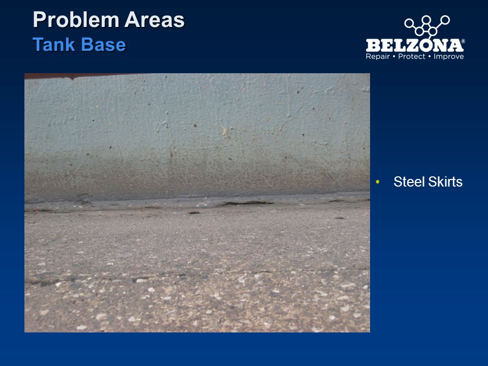 Steel Skirts Problem Areas Tank Base