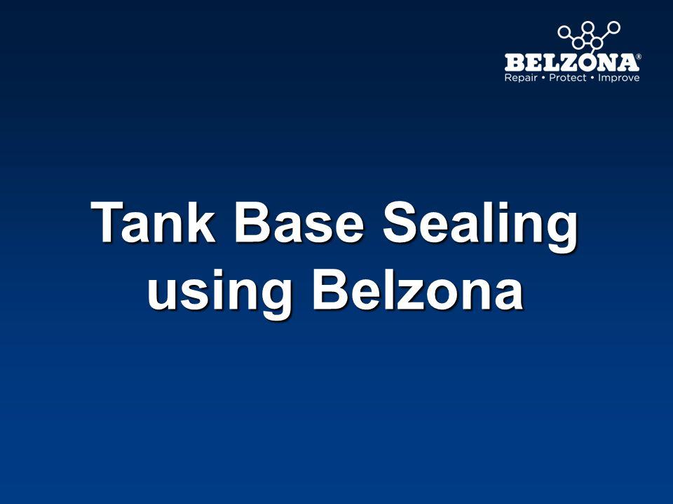Tank Base Sealing using Belzona