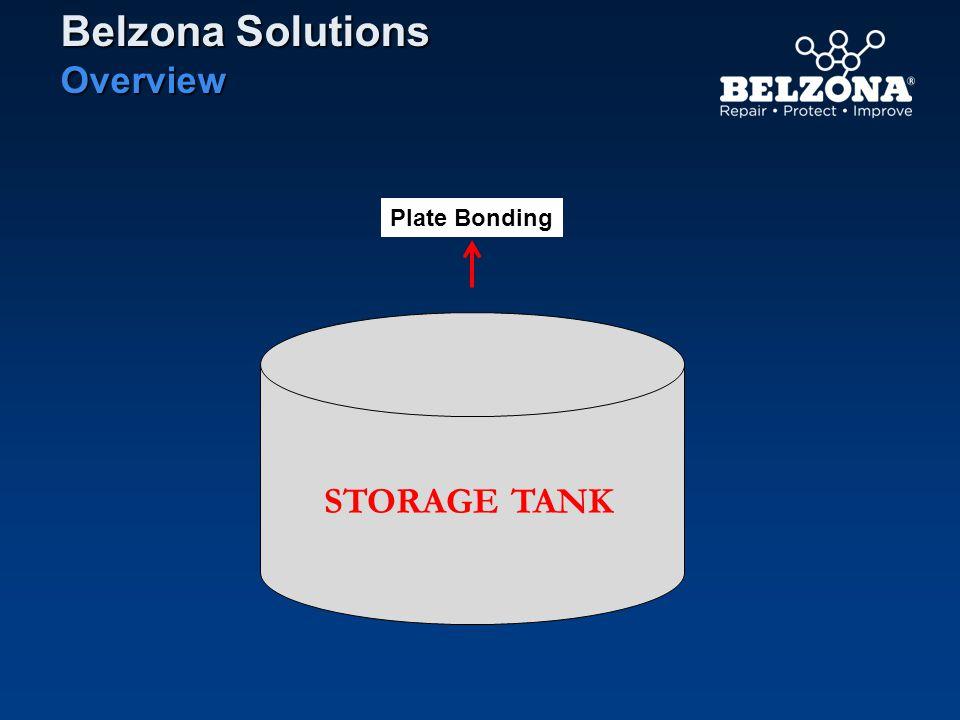 STORAGE TANK Plate Bonding Belzona Solutions Overview