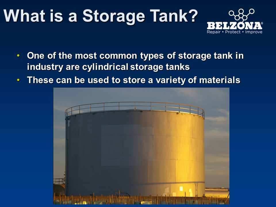 STORAGE TANK Internal Protection Belzona Solutions Overview