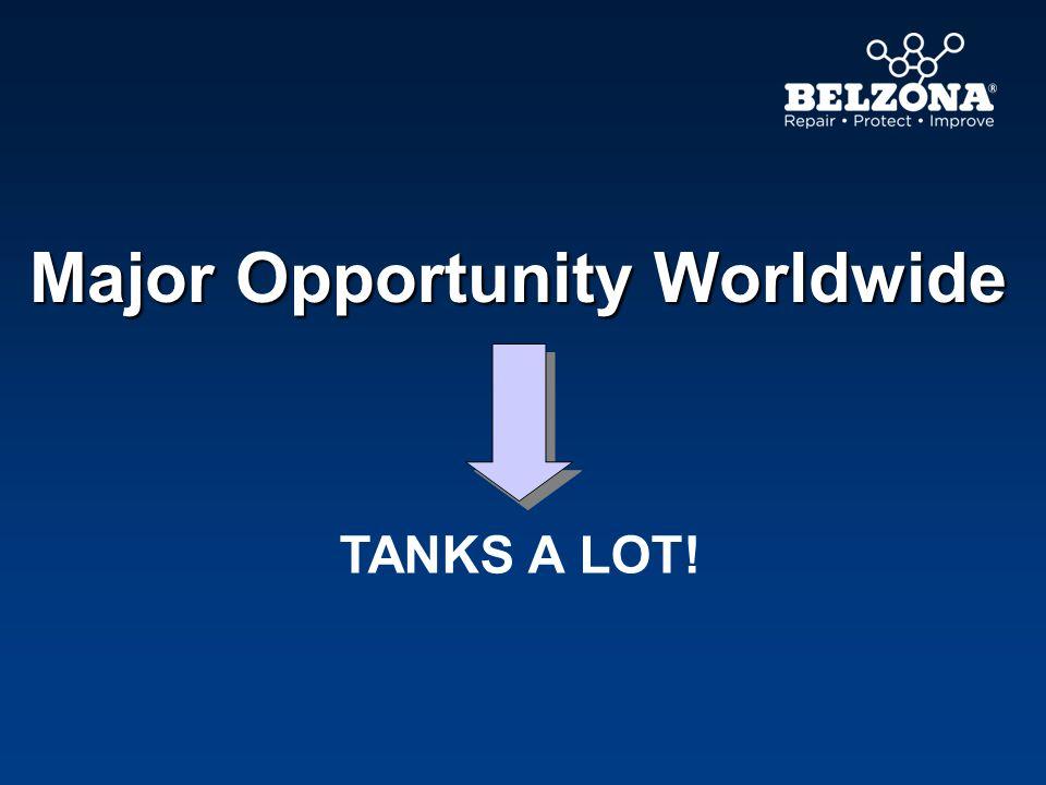 Major Opportunity Worldwide TANKS A LOT!