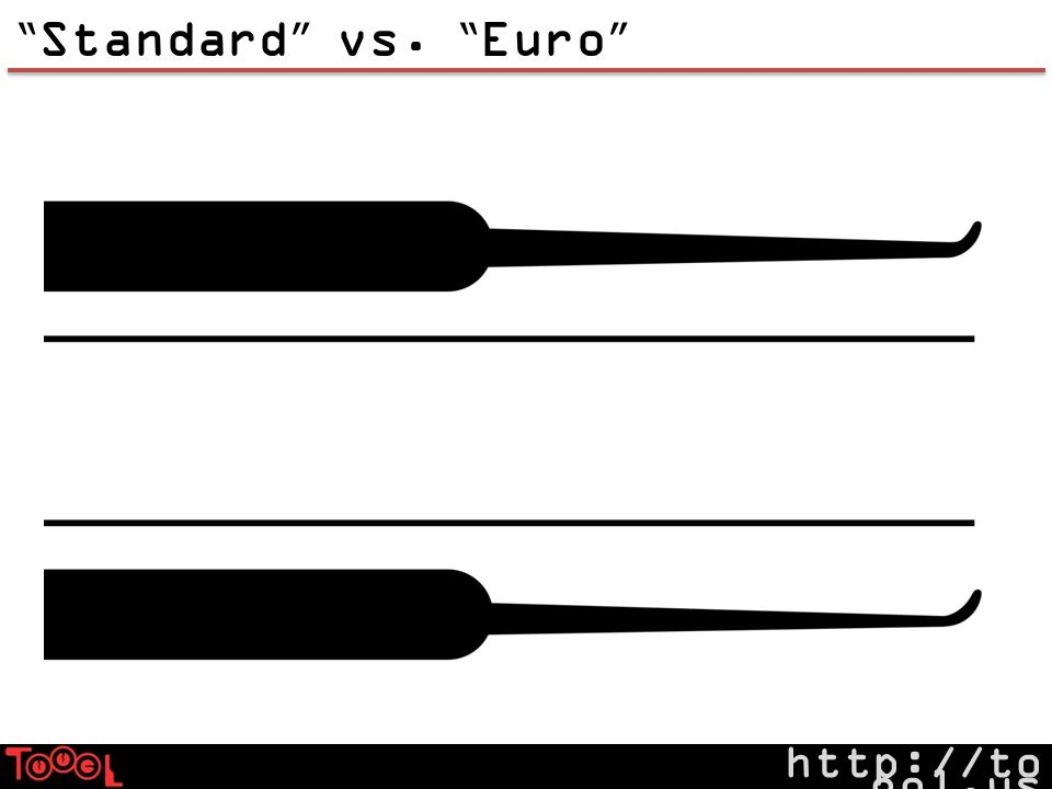 http://to ool.us Standard vs. Euro