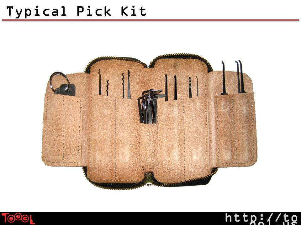 http://to ool.us Typical Pick Kit