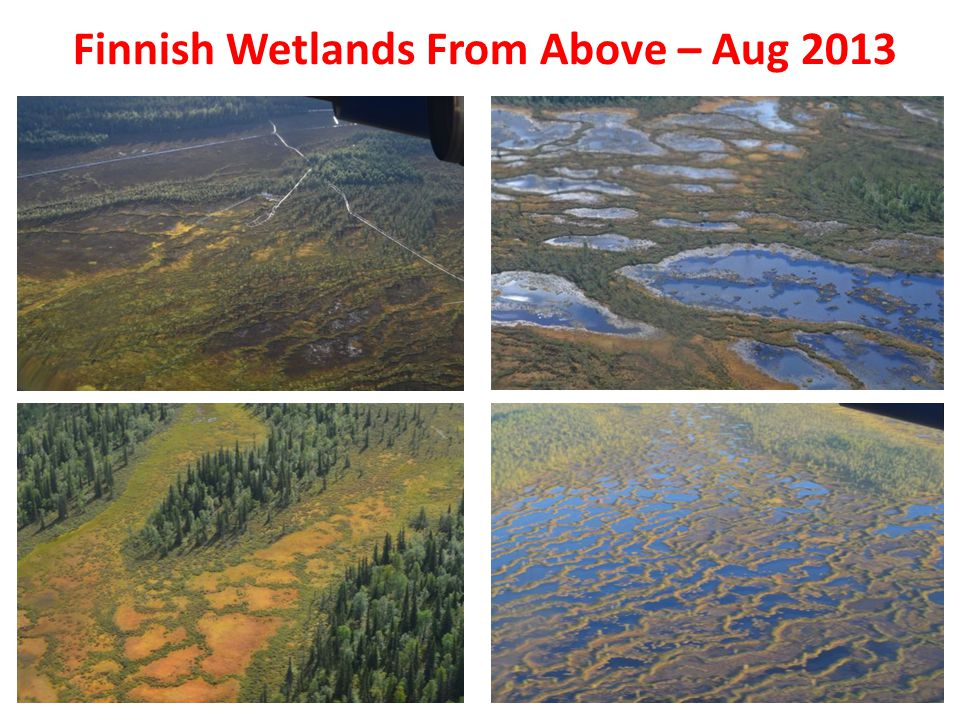 Finnish Wetlands From Above – Aug 2013