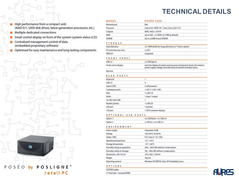 POSÉO by POSLIGNE ® retail PC