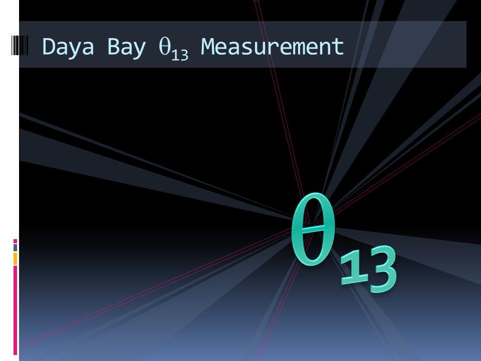Daya Bay 13 Measurement