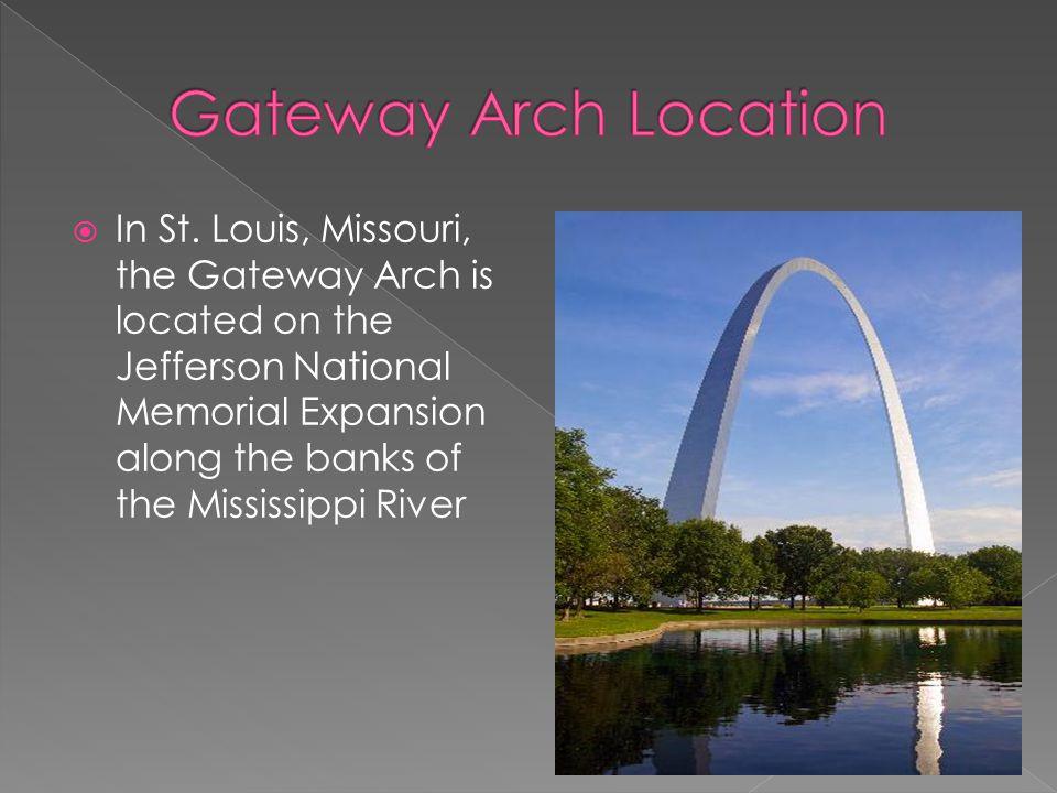http://www.gatewayarch.com/Arch/info/arch.fact.aspx http://www.nps.gov/history/history/online_books/harrison/harrison30.htm http://www.slfp.com/View-of-Arch.html http://www.truckerphoto.com/gatewayarch.htm http://www.shapeofamerica.com/shape/id/11 http://www.greatbuildings.com/buildings/Gateway_Arch.html