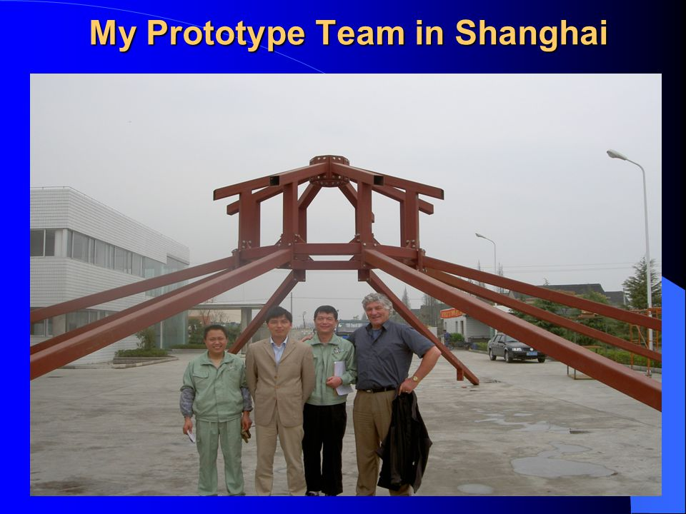 My Prototype Team in Shanghai