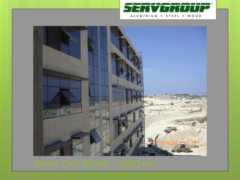 Smart City Malta – 2500 m²