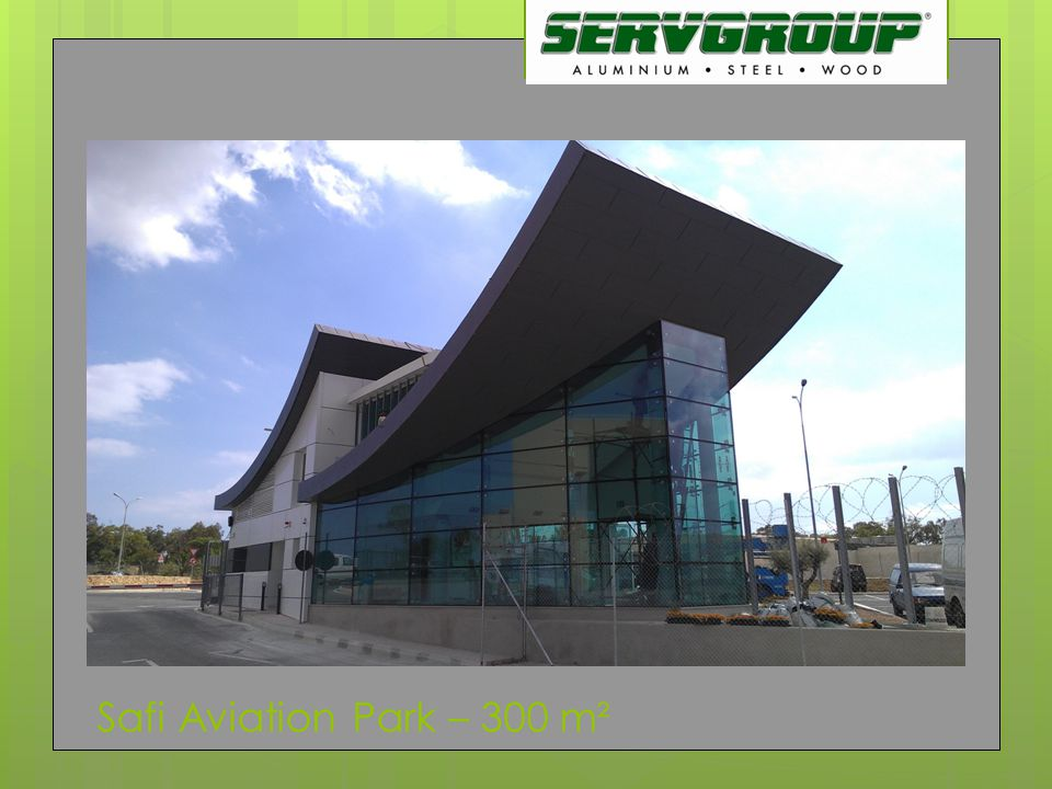 Safi Aviation Park – 300 m²