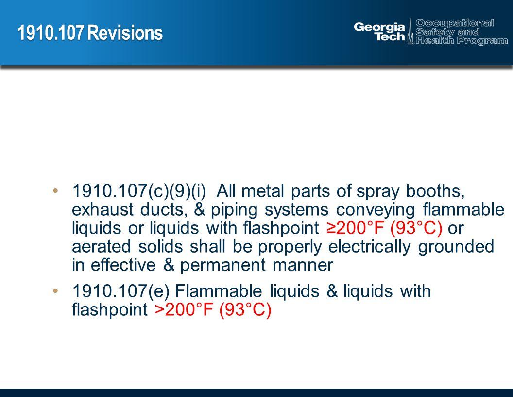 1910.107 Revisions 1910.107(e)(4) Transferring liquids.