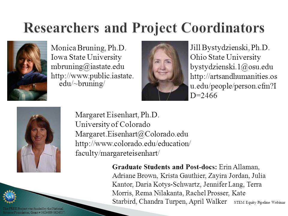 Monica Bruning, Ph.D. Iowa State University mbruning@iastate.edu http://www.public.iastate.