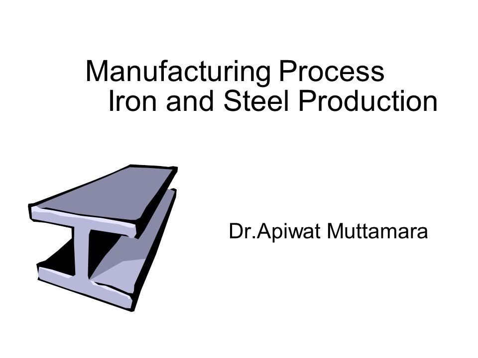 Iron and Steel Production Manufacturing Process Dr.Apiwat Muttamara