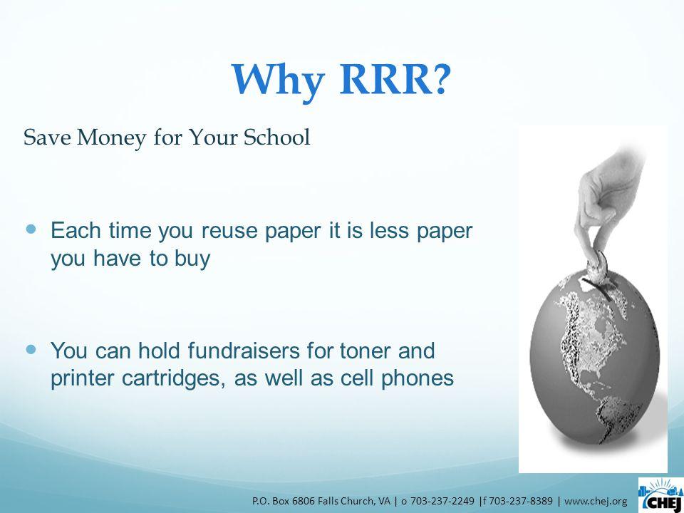 Why RRR.