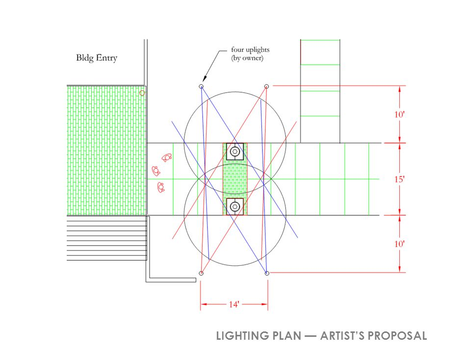LIGHTING PLAN ARTISTS PROPOSAL