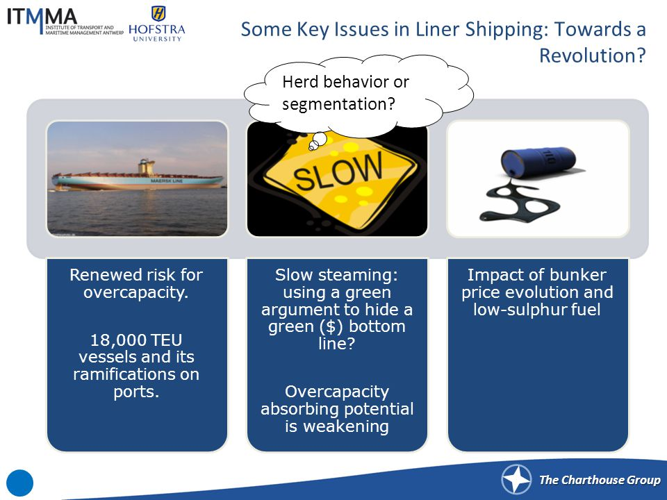 The Charthouse Group Some Key Issues in Liner Shipping: Towards a Revolution.
