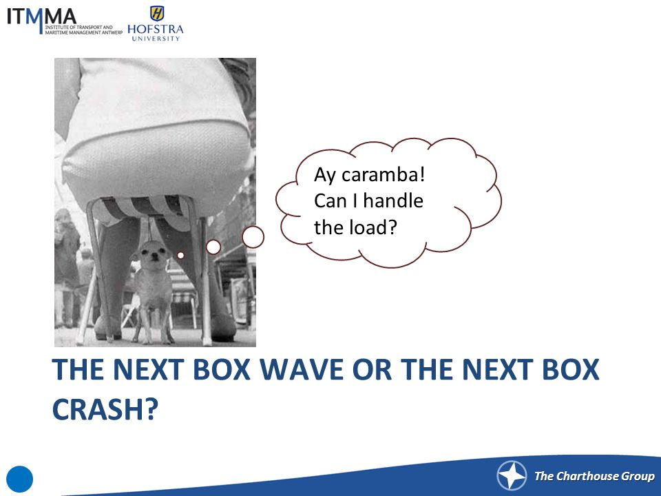 The Charthouse Group THE NEXT BOX WAVE OR THE NEXT BOX CRASH? Ay caramba! Can I handle the load?