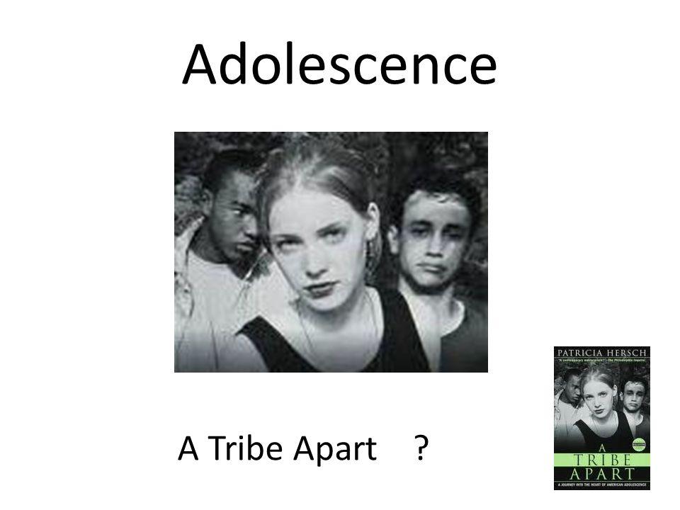 Adolescence A Tribe Apart ?
