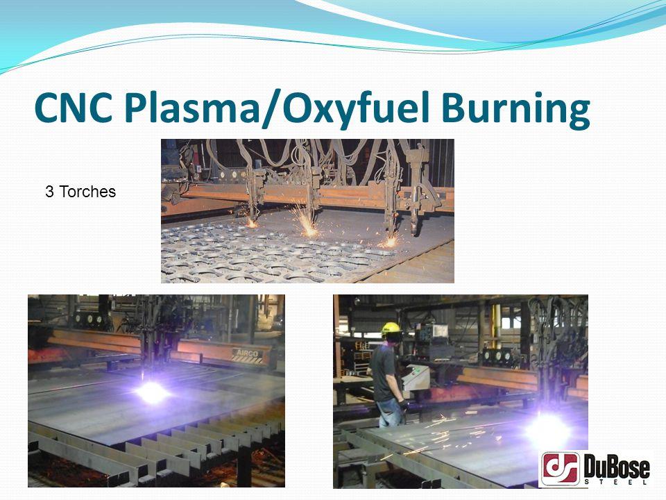 CNC Plasma/Oxyfuel Burning 3 Torches