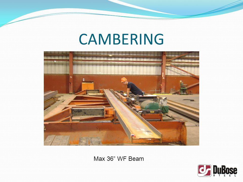 CAMBERING Max 36 WF Beam