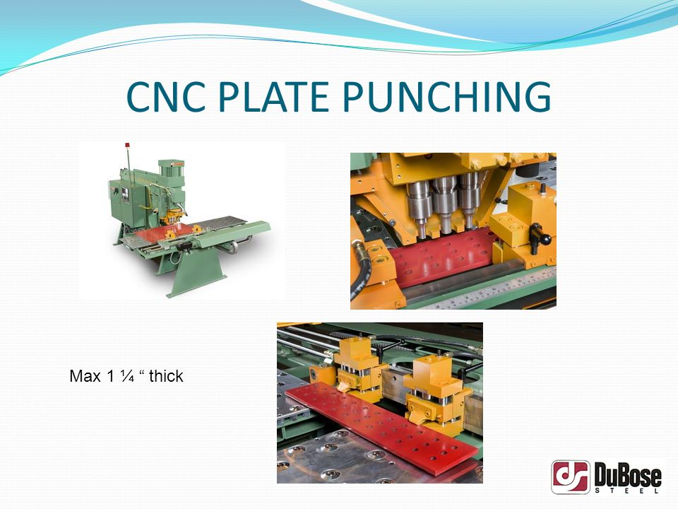CNC PLATE DRILLING ¼ – 3 x 96 x 240 Plate Drill up to 3 Hole Oxy or Hi Def Plasma Burning