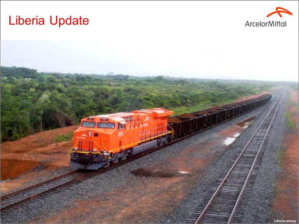 Liberia Update Liberia railway